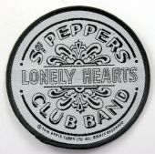 The Beatles - 'Sgt Peppers Black & White' Woven Patch